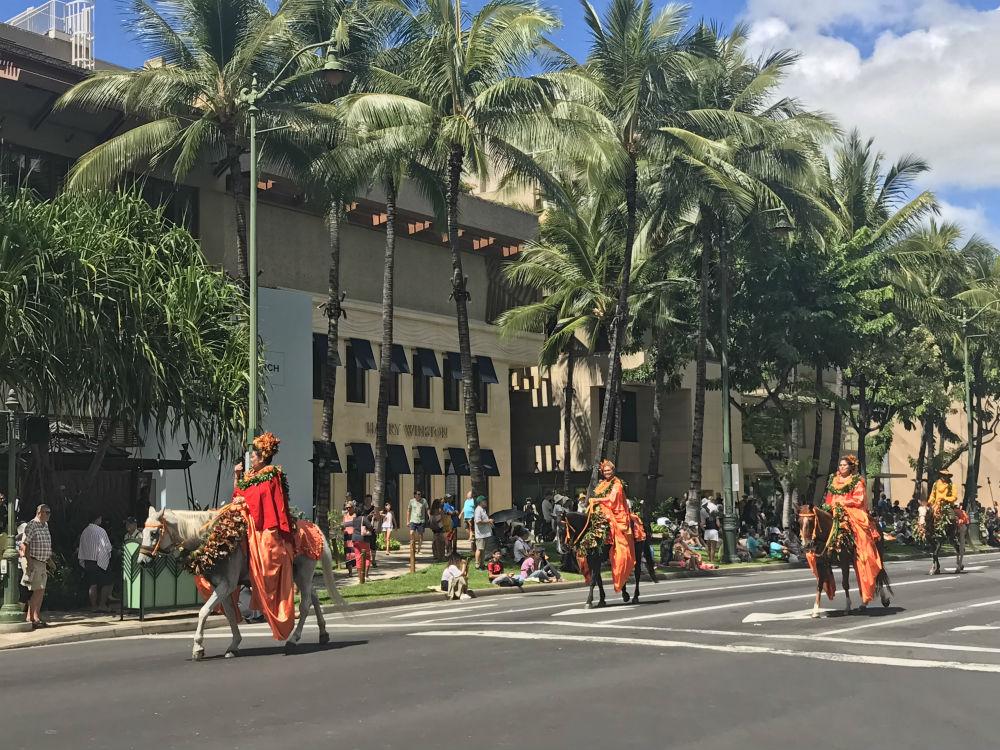 Aloha Festivals Floral Parade 1000p
