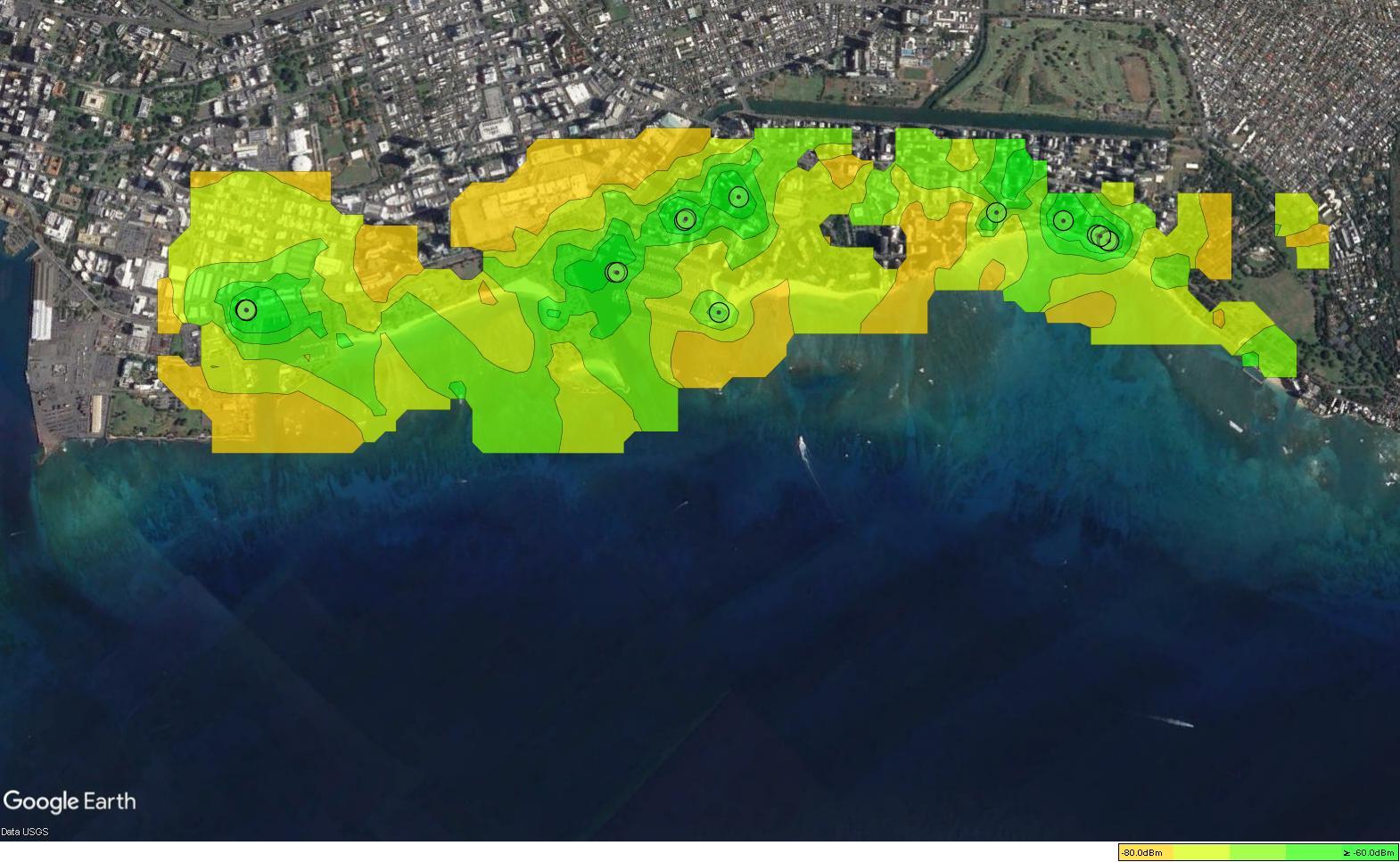 SGB Network Heat Map v.6.28